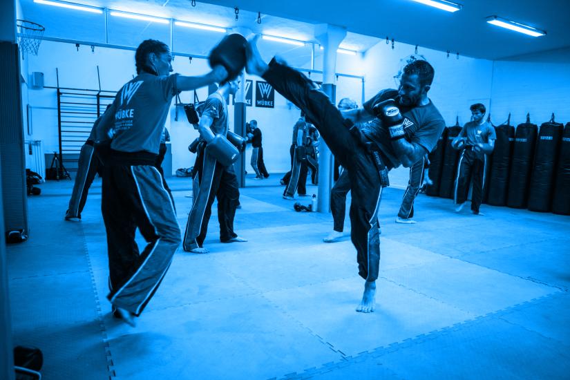Michael Wübke Kickboxen